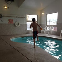 Photo taken at Prospector Village Pool & Hot Tubs by Langdon L. on 3/29/2014