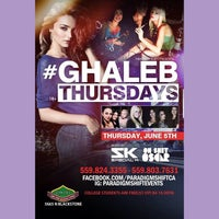 Photo taken at Ghaleb's Grill and Hookah Lounge by DJ S. on 6/5/2014