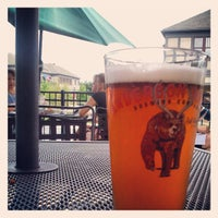 Photo taken at Thirsty Monk Pub & Brewery by kyle c. on 7/24/2013