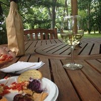 Photo taken at Amalthea Winery by Sara L. on 6/14/2014