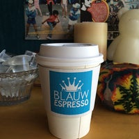 Photo taken at BLAUW ESPRESSO by Croro L. on 4/9/2015