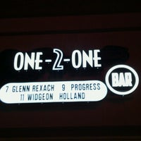 Photo taken at One-2-One Bar by Aaron D. on 5/31/2013
