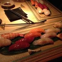 Photo taken at Sushi Azabu by J C. on 6/13/2013