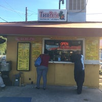 Photo taken at Taco Pete by Nia on 10/20/2017
