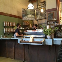 Photo taken at Bowery Coffee by Dy C. on 3/7/2013