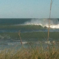 Photo taken at The Beach Behind Sun On The Beach by Gina V. on 10/29/2012