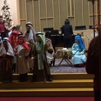 Photo taken at First Congregational Church by Amy O. on 12/25/2013