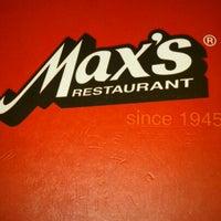 5/12/2013 tarihinde Precious Claudine T.ziyaretçi tarafından Max's Restaurant'de çekilen fotoğraf
