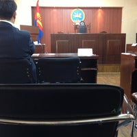 Photo taken at City Administrative Court by Davaakhuu E. on 3/25/2013