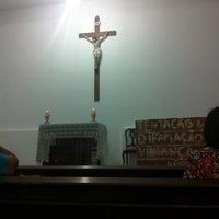 Photo taken at Paróquia Maria Mãe da Igreja e São Judas Tadeu by Lucia H. on 3/22/2014