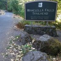 Photo taken at Wahclella Falls Trail by Lesa M. on 8/26/2017
