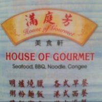 Photo taken at House of Gourmet 滿庭芳 by Anthony F. on 1/8/2013