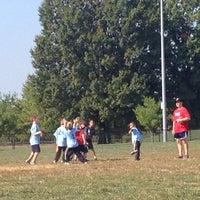 Photo taken at Lakelands Park Middle School by Julie T. on 10/5/2013