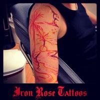 Photo taken at Iron Rose Tattoos by Iron Rose Tattoos on 3/2/2013