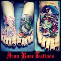 Photo taken at Iron Rose Tattoos by Iron Rose Tattoos on 6/24/2013