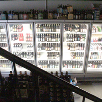 Photo taken at Bottle Bar East by Thrillist on 6/12/2013