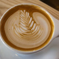 Photo taken at Happy Coffee by Thrillist on 6/12/2013
