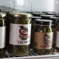Photo taken at The Pickle Shack by Thrillist on 11/4/2013