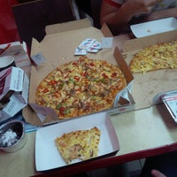 Photo taken at Domino's Pizza by Sharafat S. on 6/19/2015