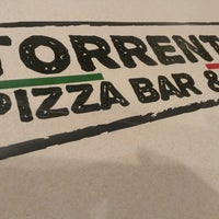 Photo taken at Torrento Pizza Bar & Bar by Alejandro G. on 3/10/2014
