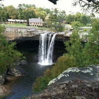 Photo taken at Noccalula Falls by Greg S. on 10/10/2012