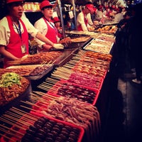 Photo taken at 王府井小吃街 Wangfujing Food Alley by Igor Z. on 5/4/2013