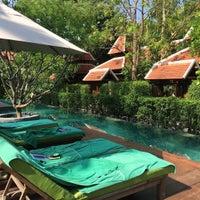 Photo taken at Siripanna Villa and Gallery Resort Chiang Mai by Miw B. on 4/20/2017