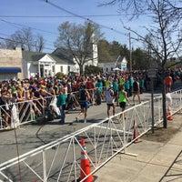 Photo taken at Boston Marathon Start Line by mary c. on 4/18/2016