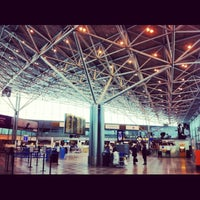 Photo taken at Helsinki Airport (HEL) by Armel O. on 2/9/2013