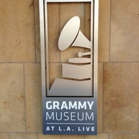 Photo taken at The GRAMMY Museum by Matthew B. on 11/6/2012