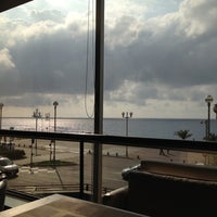 Photo taken at Rooftop Pool @ Le Méridien Nice by Mamen M. on 9/24/2012