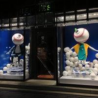 Photo taken at Maison Hermès by komachi n. on 6/16/2013