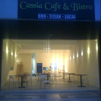 Photo taken at Cassia Cafe & Bistro by Shah on 7/19/2013