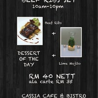Photo taken at Cassia Cafe & Bistro by Shah on 9/17/2013