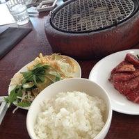 Photo taken at 焼肉 大将軍 横浜ベイクォーター店 by Seiji F. on 8/16/2013