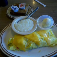 Photo taken at Belgian Waffle & Steakhouse by George H. on 11/23/2012