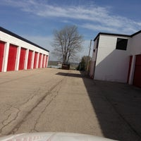 Photo taken at Badger Self Storage by William C. on 5/5/2013