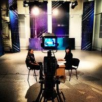 Photo taken at Телецентр Института журналистики БГУ by Eugene on 11/20/2012