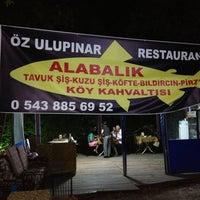 Photo taken at Öz Ulupınar Restaurant by cenk g. on 8/9/2013