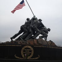 Photo taken at US Marine Corps War Memorial (Iwo Jima) by Robert R. on 12/7/2012