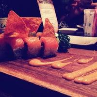 Photo taken at Aka Sushi House by Nathan B. on 10/11/2012
