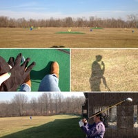 Photo taken at Turtle Cove Driving Range by Rackie Y. on 1/8/2013