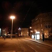 Photo taken at H Wilhelm-Liebknecht-Platz by Martin N. on 10/20/2013