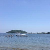 Photo taken at Lake Hamana by shckor on 7/7/2013