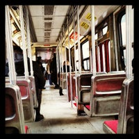 Photo taken at TTC Streetcar #501 Queen by All About Drama on 3/25/2013