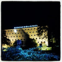 Photo taken at Amerika-Gedenkbibliothek (AGB) by All About Drama on 9/28/2012