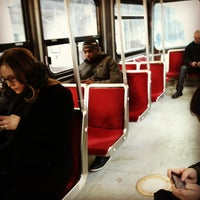 Photo taken at TTC Streetcar #504 King St by All About Drama on 3/8/2013