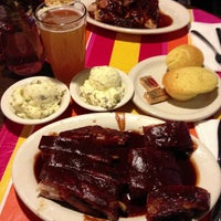 Photo taken at Everett & Jones Barbeque by Carrie C. on 9/22/2012