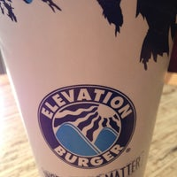 Photo taken at Elevation Burger by DK D. on 12/28/2012