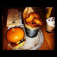 Photo taken at 8oz Burger Bar by Nick L. on 12/4/2012